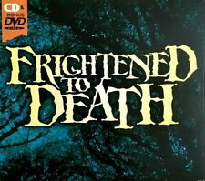 FRIGHTENED TO DEATH HALLOWEEN SOUND EFFECTS CD + BONUS CLASSIC HORROR MOVIES DVD