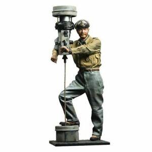 1/16 Resin Figure Kit Model U Boat Captain CCDR Combatant Commander Unpainted