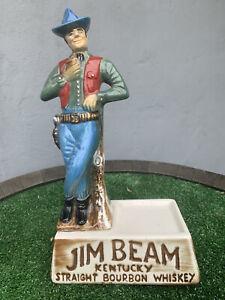 Jim Beam Cowboy Figure