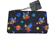 Disney Lilo And Stitch Loungefly Space Ship Pouch NWT Rare Print