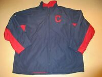 GAME USED WORN 2013 CHRIS PEREZ CLEVELAND INDIANS MAJESTIC JACKET JERSEY XXL #54