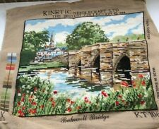 Completed Kinetic Tapestry= Bakewell Bridge