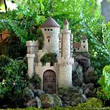 Waterfall Castle Fairy cottage Home Garden Craft Décor