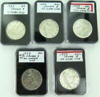 .JOB LOT 1952 & 1953 aUNC / UNC CANADIAN $1.