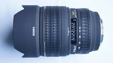 SONY un Mount FIT SIGMA 15-30mm f3.5-4.5 Lens + EX TAPPI DG + caso 15 - 30 mm