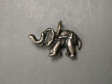 "Vintage Elephant Charm 3/4"" Long"