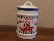 Avon Strawberries & Cream Candle Jar with Lid