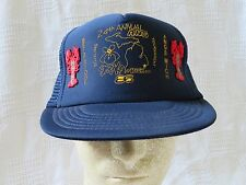Selfridge ANGB Mich ANG Strike It Rich in 86 Bowling Snapback Hat 1986 Maine