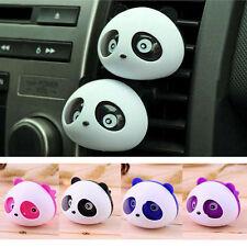 Cute Car Auto Dashboard Air Freshener blink Panda Perfume Diffuser For Car