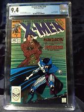 Uncanny X-Men 256  CGC 9.4 NM  WHITE PAGES  NEW CASE  1st new Psylocke.