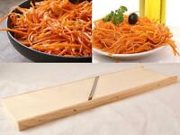 Large Big Grater for Korean Carrot Salad Wooden Stainless Steel USA Seller New