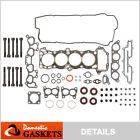 Fits 91-94 Nissan Sentra NX 1.6L DOHC Head Gasket Set Bolts GA16DE