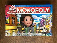 New Monopoly Board Game Ms Monopoly Miss Monopoly English +french Language