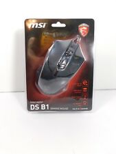 MSI Interceptor DS B1 GAMING Mouse, 1600DPI, 4000fps, 6 Buttons, USB