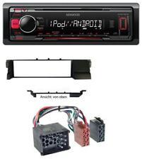 Kenwood MP3 USB 1DIN AUX Autoradio für BMW 3er E46 (Profiversion Rundpin)