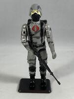 Mayhem Trooper COBRA Soldier Black Major Firefly Guards GI Joe w/#'d Filecard