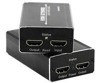 HDMI Video Extender zu 20km Glasfaser 4k 2 HDMI Ausgänge EDID HDCP 1.4 Multimode