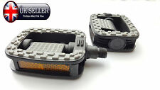 BICYCLE  PEDAL SET BMX MOUNTAIN ROAD CYCLING FLAT ANTI-SLIP PEDALS   84315