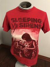 Sleeping With Sirens Red Concert Band Shirt Size Small Alternative Tour
