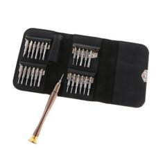 24pcs Precision Mini Tournevis Set pour Laptop Watch Lunettes Réparation