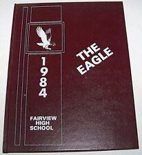 Fairview MI Fairview High School Eagles Yearbook 1984 Michigan (Grades 12-7)
