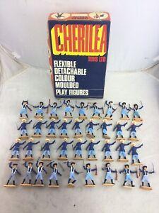 1 Box of 3 Dozen Cherilea Swoppet US Cavalry Toy Soldiers