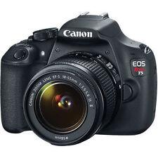 NEW CANON REBEL T5 18MP DSLR BUNDLE 18-55 & FREE SD card