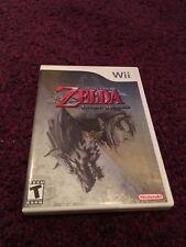 Zelda Twilight Princess Nintendo Wii USA NTSC Mint Condition