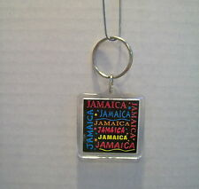 JAMAICA Novelty Keychain Key Ring