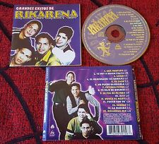 Latin Merengue RIKARENA **Grandes Exitos** VERY RARE 1999 Colombia CD