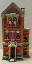 Snow Village #56 Finkleas's Finery Excellent + In Box