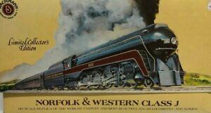 Bachmann 41-0658-A4 HO Loco & Tender Norfolk & Western 4-8-4 Class J #600 Boxed