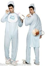 Adult Mens Blue Got Poo Big Baby Stag Do Funny Halloween Funny Costume Outfit  sc 1 st  eBay & Big Baby Costumes for Men | eBay