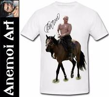 T587 Signed Sexy Vladimir Putin t shirt tee t-shirt Picture autograph signature