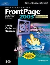Microsoft Office FrontPage 2003: Comprehensive Concepts and Techniques