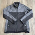BURTON Durable Goods Quilt Knit hooded jacket Boys Pierce Fleece Size XL