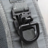 1PCS Molle Strap Military Backpack Bag Webbing Connecting Buckle New Clip LV sf