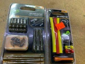Fox Edges Zig Lead Clip Kit Size7 5pc CAC722/ zig kit cac467