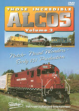 Those Incredible Alcos Vol 2 DVD NEW PENTREX 251-powered RSD-12 RS-27 FPA-4