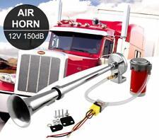 150DB 12V Single Trumpet Kit Air Horn Compressor Super Loud Car Lorry Boat
