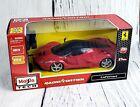 Maisto Tech Ferrari LaFerrari 1:24 Scale Red Radio Control R/C Car Toy 27 MHZ