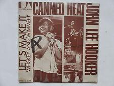 JOHN LEE HOOKER CANNED HEAT Let's make it UA 50779