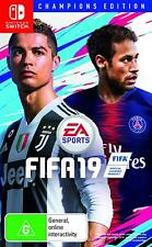 FIFA 19 Champions Edition Soccer Footy Football Sports Game for Nintendo Switch