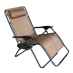 Four Seasons Courtya RXTV-1825-XL-T Verona Zero Gravity Chair, E-Coated Steel