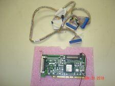 DELL C4274 PCI-X U320 SCSI 1 CHANNEL RAID CONTROLLER, W/  68PIN CABLE & ID CABLE