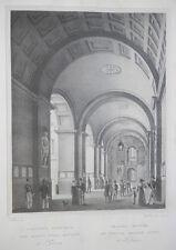 1829 Napoli Sepolcro di Sannazzaro Cuciniello e Bianchi litografia