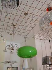 Grüne Pendelleuchte / TOP Design / LED möglich / 2 x E27 / D38 cm
