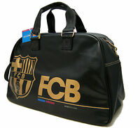 Borsa Bowling Bag Black FCB Barcellona Borsone Viaggio Weekend Calcio Barcelona
