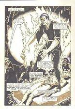 Planet of the Apes #21 p. 5 - Cremation Splash - Malibu - 1992 art by M.C. Wyman