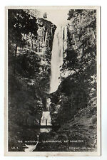 Waterfall Llanrhaiadr Real Photo Postcard c1920s Oswestry